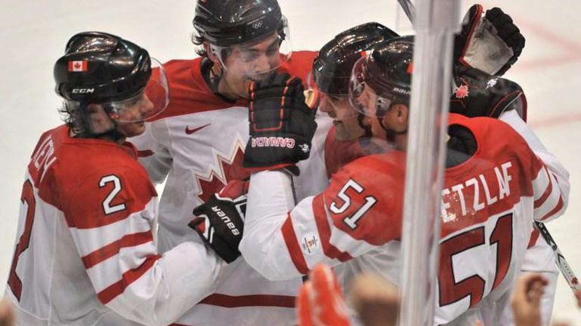 Cборная Канады по хоккею отказалась отвечать на вопросы журналистов на Олимпиаде в Сочи
