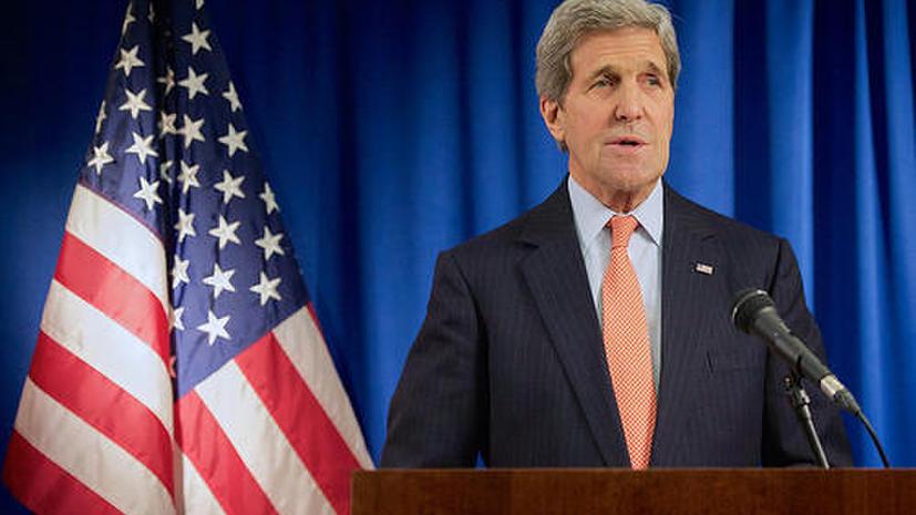 Джон Керри: Новые санкции США против России вступят в силу в случае эскалации конфликта на Украине