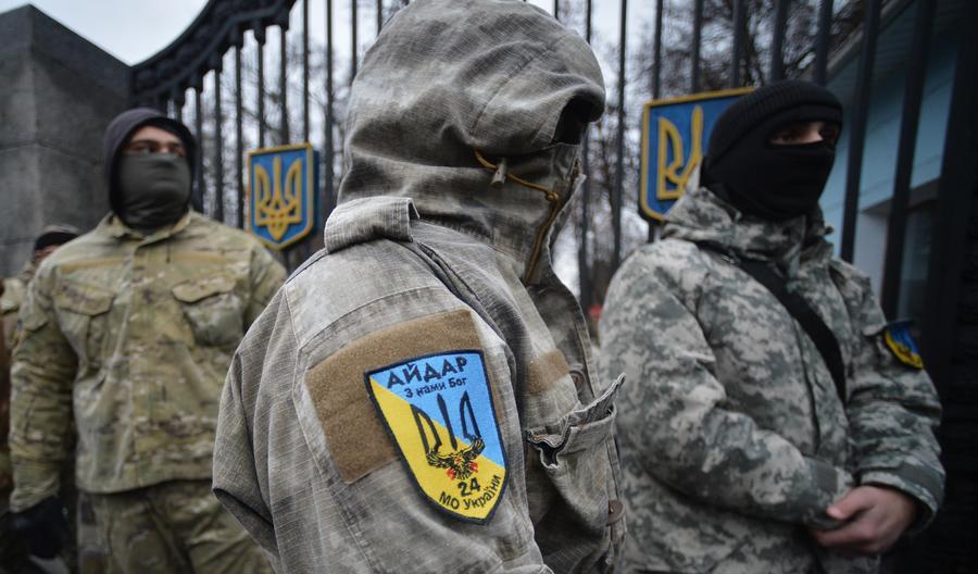Глава МВД Украины Арсен Аваков назвал акцию протеста батальона «Айдар» предательством