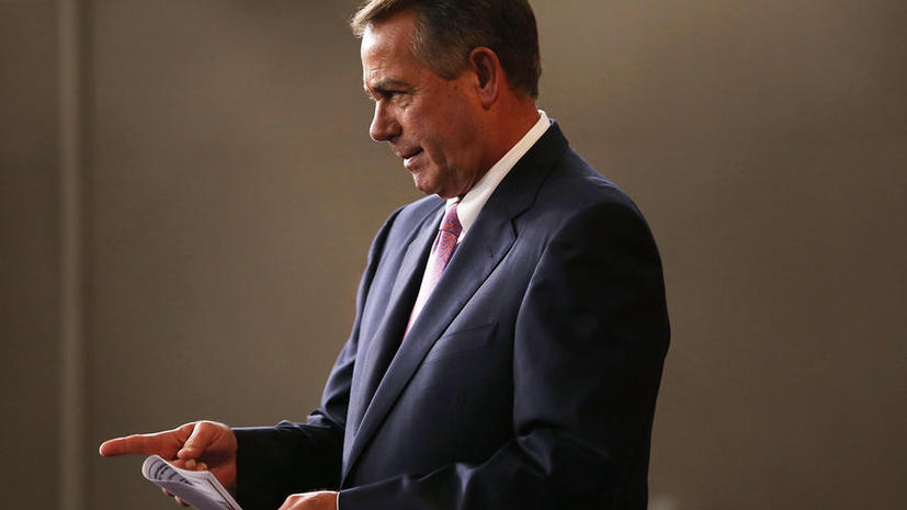 Спикер палаты представителей США отказался от встречи с российскими парламентариями
