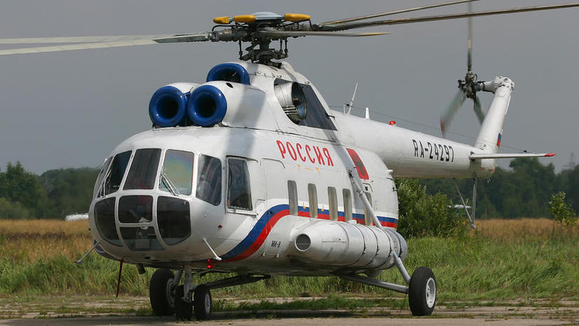 В Мурманской области разбился вертолёт Ми-8, судьба 16 человек неизвестна