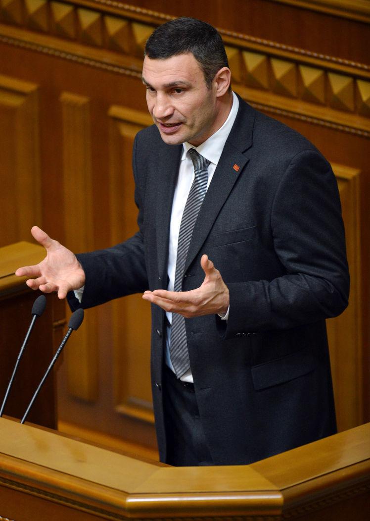 Виталия Кличко без его ведома выдвинули на пост мэра Киева