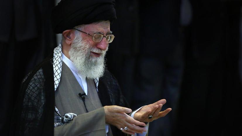 Духовный лидер Ирана: Республика не стремится к обладанию ядерным оружием