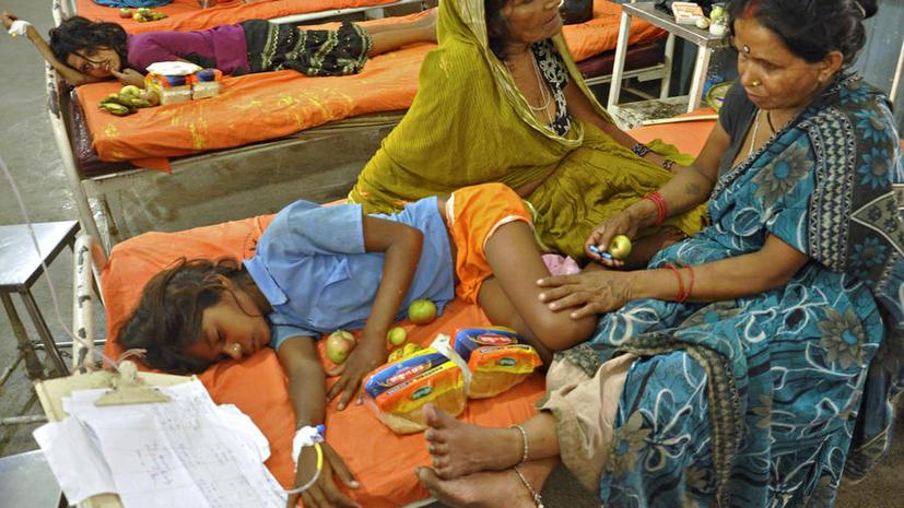 Повара и директора индийских школ будут пробовать еду, прежде чем кормить ею детей