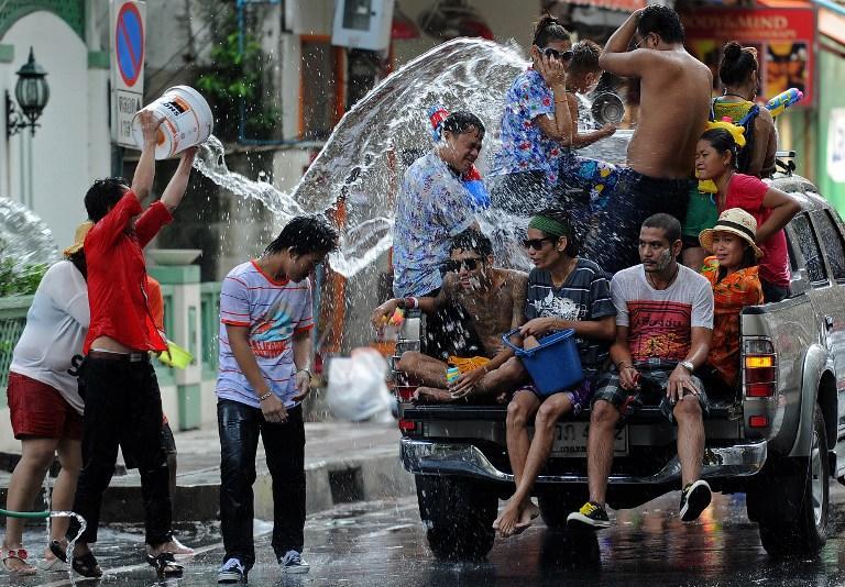 В Таиланде отмечают буддийский Новый год