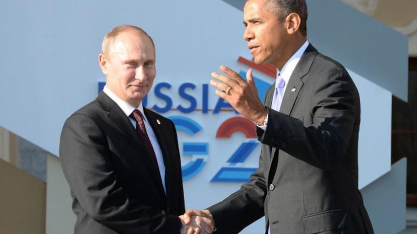 Барак Обама: Владимир Путин играет важную роль в урегулировании сирийского кризиса