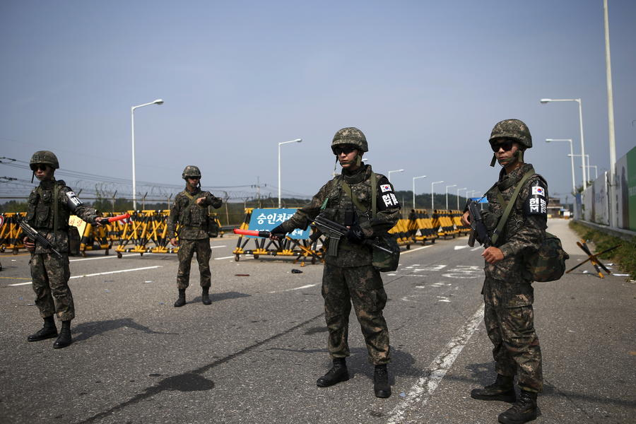 КНДР и Южная Корея договорились о деэскалации напряжённости на полуострове