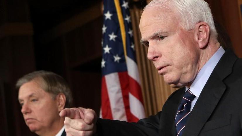 МакКейн и Грэм подталкивают США к вторжению в Сирию