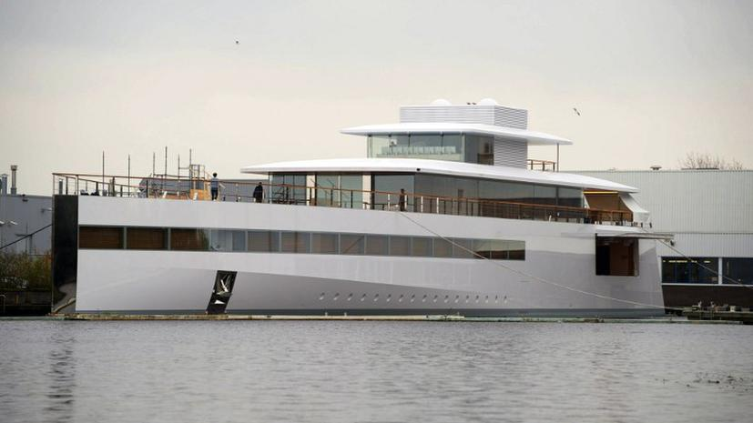 Яхта Стива Джобса освобождена из-под ареста
