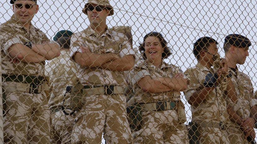 СМИ: Британскую армию ориентируют на семейные ценности