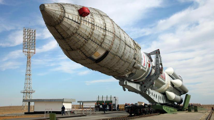 Российский разгонный блок «Бриз-М» доставил на орбиту американский спутник