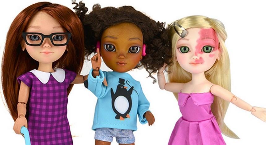 В Великобритании выпустили коллекцию реалистичных кукол «с ограниченными возможностями»