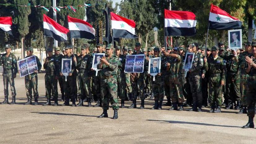 Иран готов обучать сирийскую армию, если Дамаску это потребуется