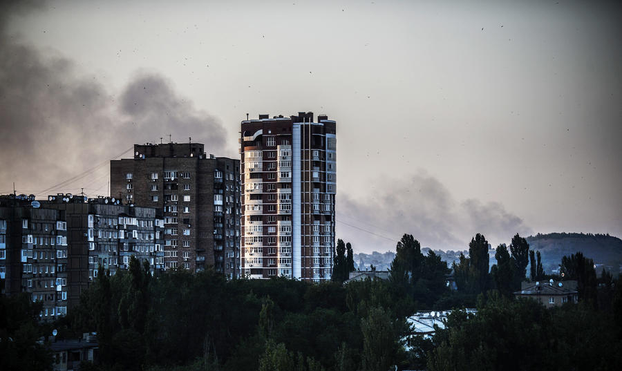 В Донецке из-за обстрелов силовиков началась эвакуация жителей