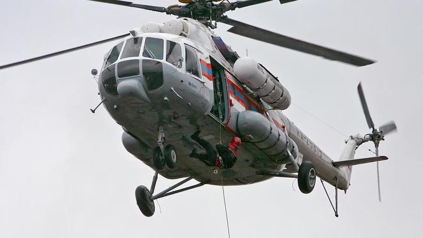 В Судане захватили российский вертолёт: после переговоров экипаж отпустили