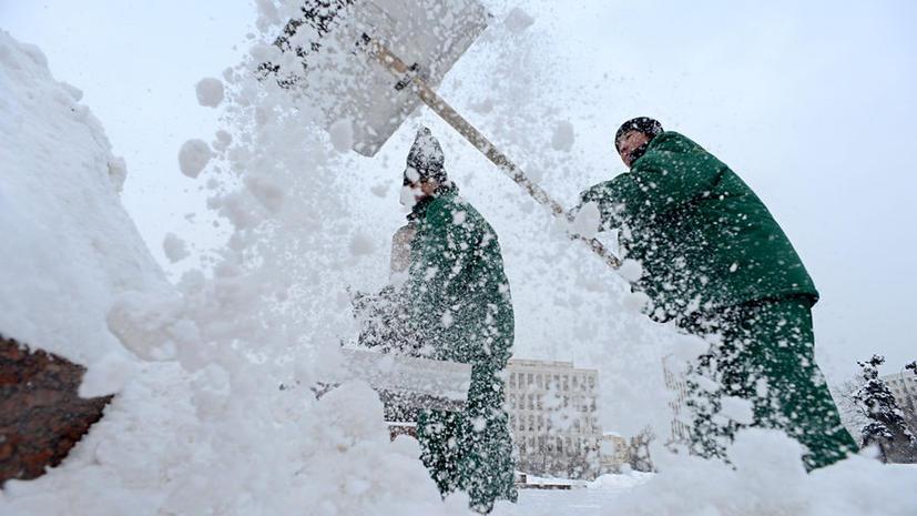 Медведев не смог приземлиться в Москве из-за снегопада