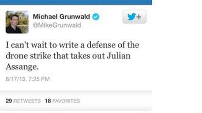 Американский журналист призвал избавиться от Джулиана Ассанжа с помощью дрона