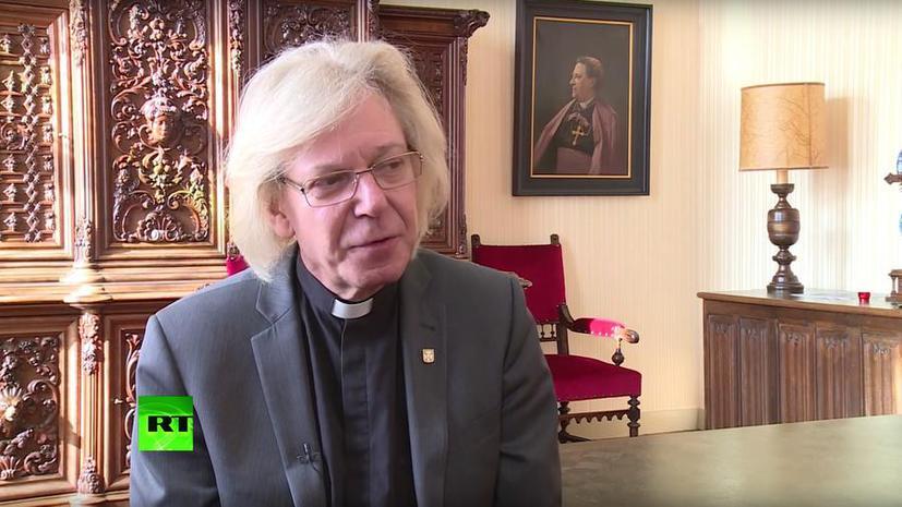 Голландский священник о трагедии MH 17: Думаю, мы сможем найти утешение в своей вере