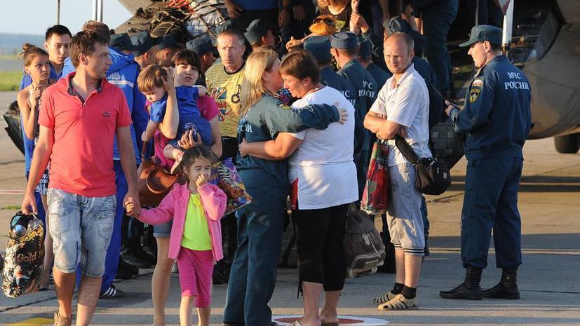 К концу сентября Россия упростит процедуру получения гражданства для украинских беженцев