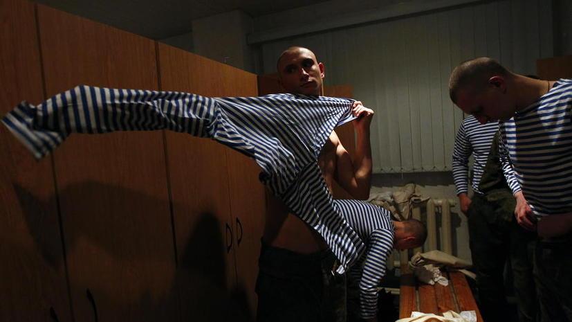 Российским солдатам выдадут форму с микрочипами
