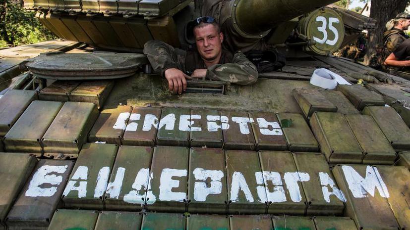 Опрос: большинство россиян считают события на Украине гражданской войной