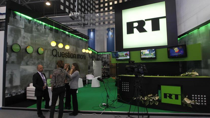 RT на русском стал самым цитируемым СМИ в соцмедиа в 2014 году