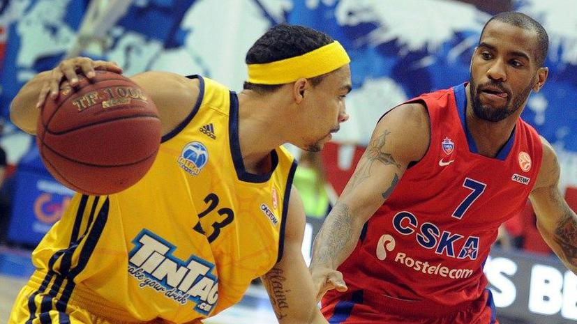 Баскетболисты ЦСКА переиграли «Альбу» в Евролиге