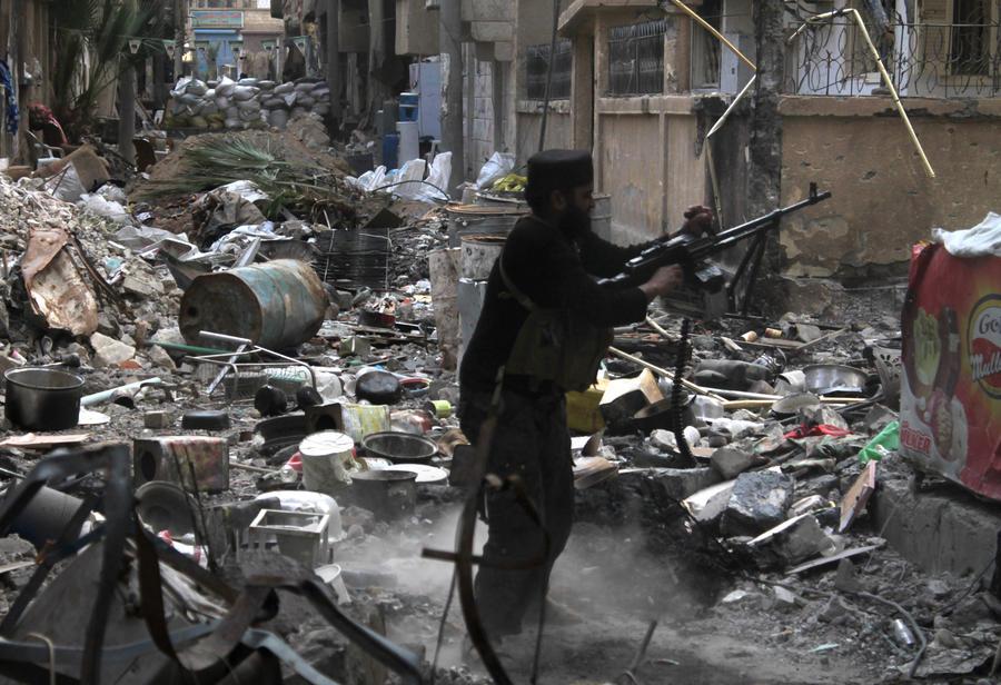 Сирийская армия вытесняет боевиков в районе Алеппо