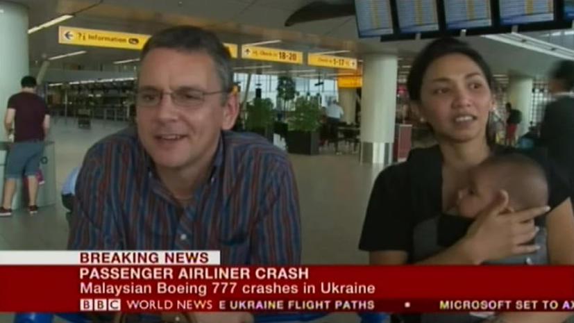 Семья не попала на разбившийся под Донецком Boeing − билеты на рейс закончились