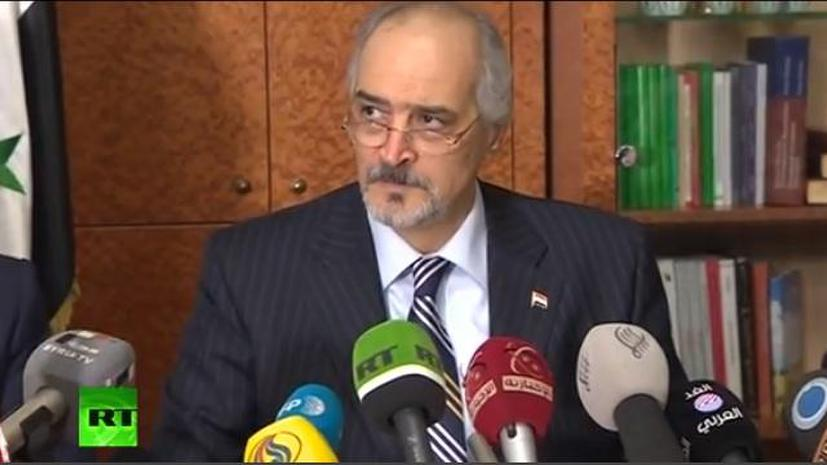 Постпред Сирии при ООН: На переговорах в Москве мы не услышали общей позиции всех оппозиционеров