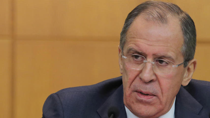 Сергей Лавров выступил против вмешательства во внутренние дела Украины