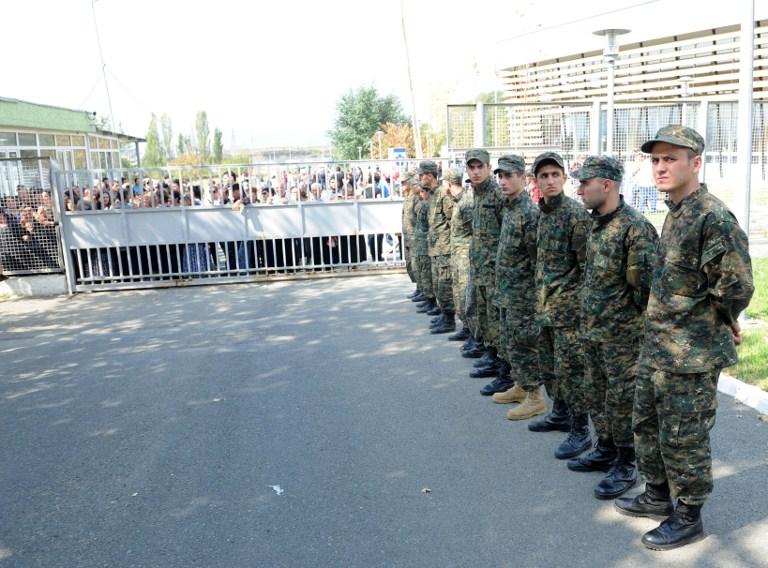 Родственники заключенных попытались взять штурмом одну из грузинских тюрем