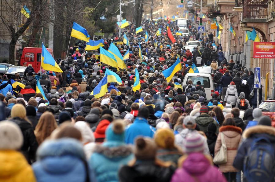 Мировые СМИ о протестах на Украине
