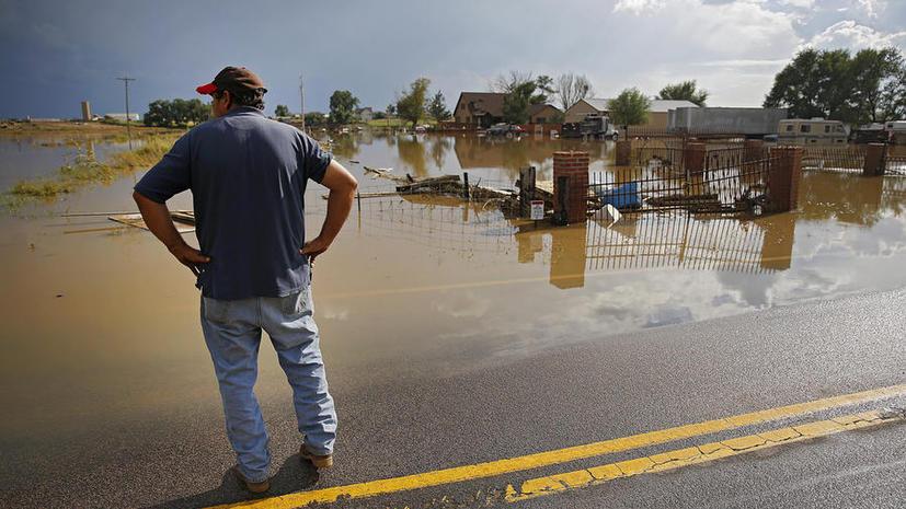 Наводнение в Колорадо: шесть человек погибли, 708 пропали без вести