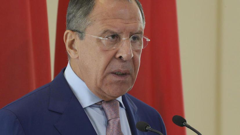 Сергей Лавров: Нужно избегать повторения трагедии с украинским вертолётом Ми-8