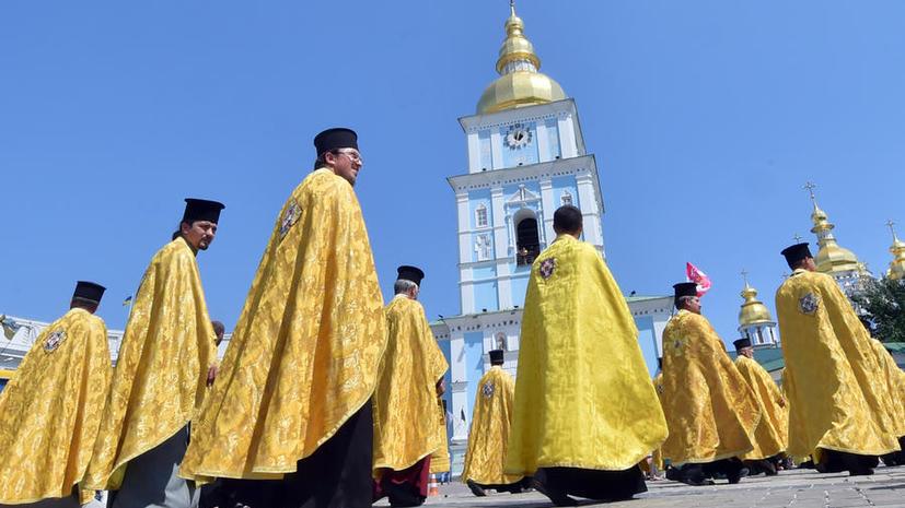 СМИ: Православные общины Украины выступают за расформирование «Правого сектора»
