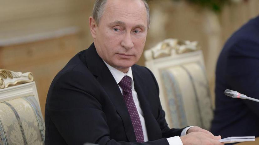 Владимир Путин: США критикуют действия России в Сирии, но отказываются от прямого диалога