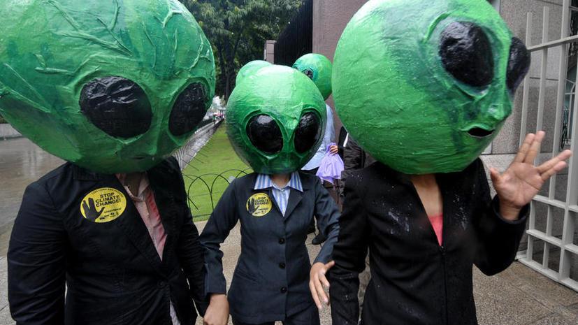 Треть американцев верят в существование инопланетян