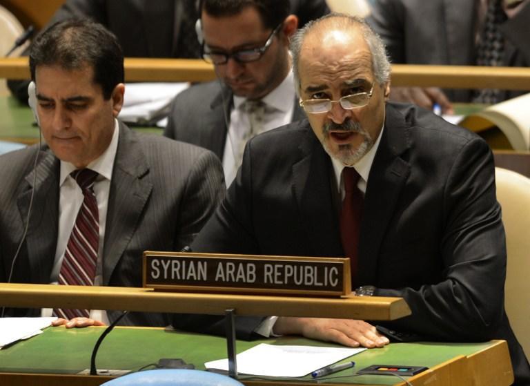 Посол Сирии в ООН обвинил Турцию, Саудовскую Аравию и Катар в снабжении сирийских повстанцев химическим оружием