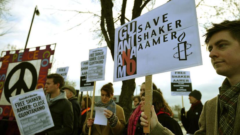 Бывший сотрудник британской разведки присоединился к голодовке узников Гуантанамо