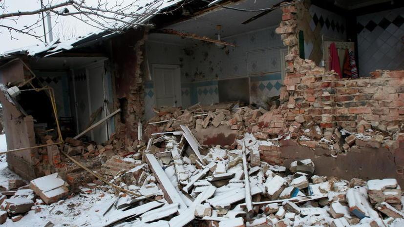 Кремль: Киев отверг предложенный Москвой план отвода артиллерии в Донбассе