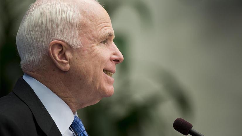 Сенатор Маккейн предложил ударить по Сирии крылатыми ракетами
