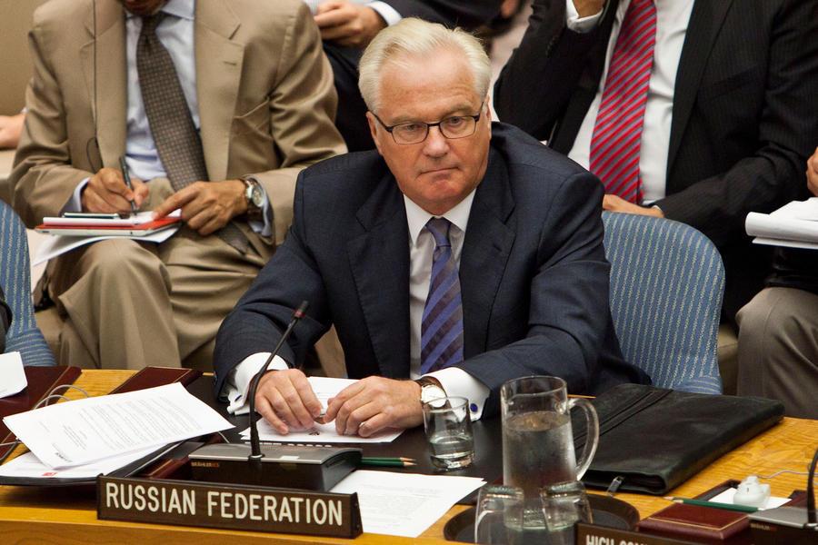 Виталий Чуркин: Проект резолюции по Сирии должен быть основан на соглашениях Лаврова и Керри