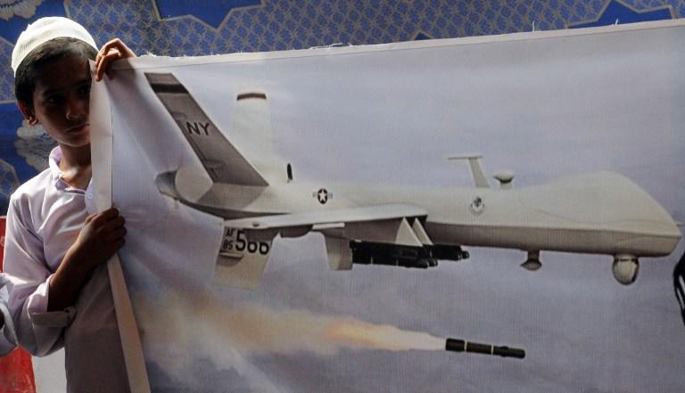 Джон Керри: США прекратят использование дронов в Пакистане