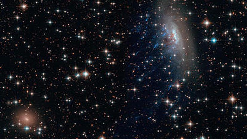 Телескоп Hubble впервые наблюдал поведение «тёмной материи» при столкновении галактик