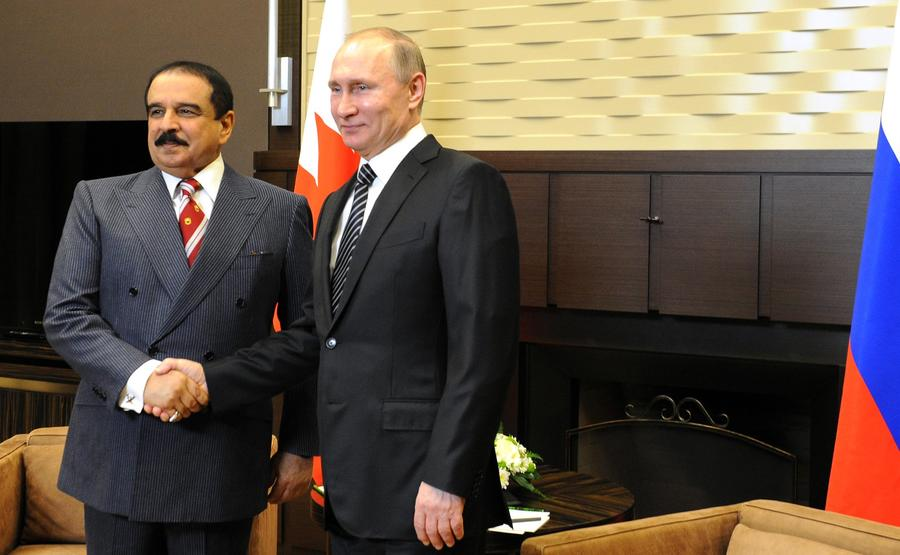 Владимир Путин и король Бахрейна заявили о готовности сотрудничать в кризис
