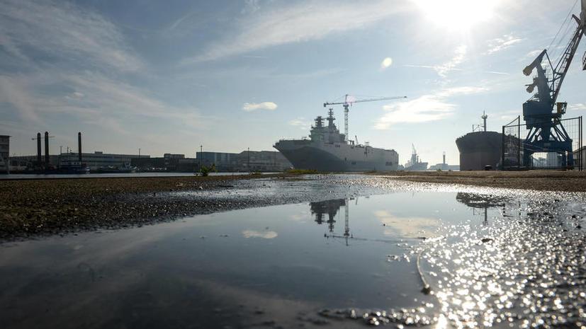 Источник: На переговорах по «Мистралям» Франция поставила России абсолютно неприемлемые условия