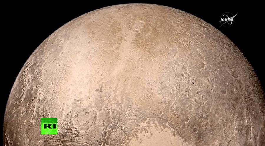 Опубликован новый видеоролик пролёта New Horizons над Плутоном