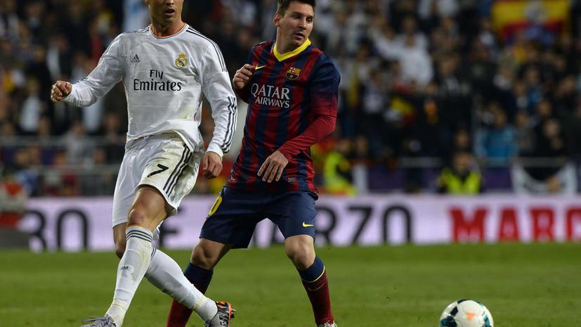 ЧМ-2014: Роналду и Месси стали самыми популярными футболистами в социальных сетях