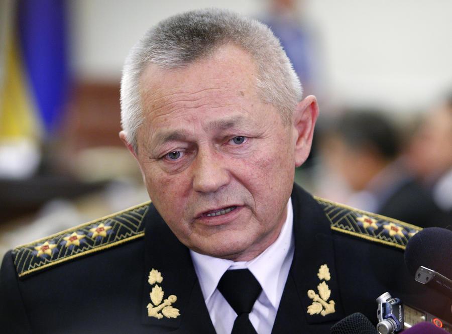 Верховная рада Украины приняла отставку и.о. министра обороны Игоря Тенюха